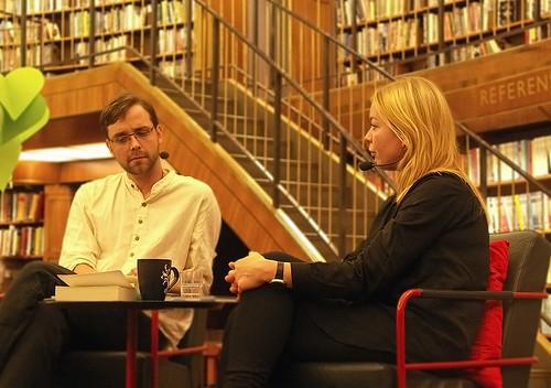 Harald Hultqvist och Karolina Ramqvist. Foto: Anna-Stina Takala