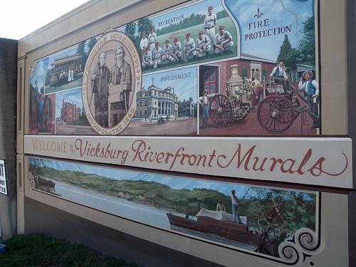 Riverfront Murals