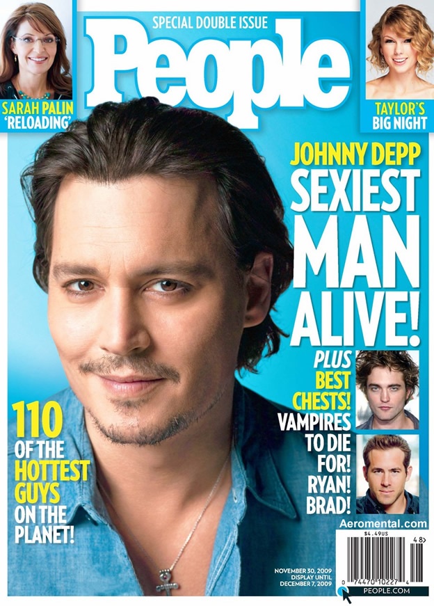 Johnny Depp People Sexiest man alive