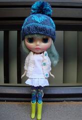Kal in new knit wear