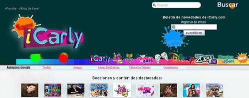 nuevo diseño blog icarly