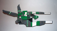 Green Flamingo (intrond) Tags: lego space starship moc starfighter vicviper