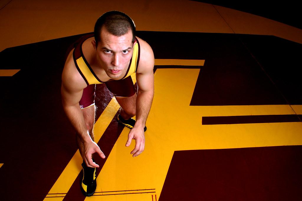 Mike Miller, CMU wrestler
