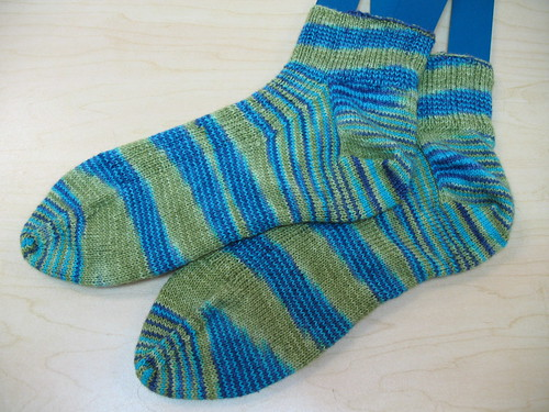 Oak Ribbed Sock