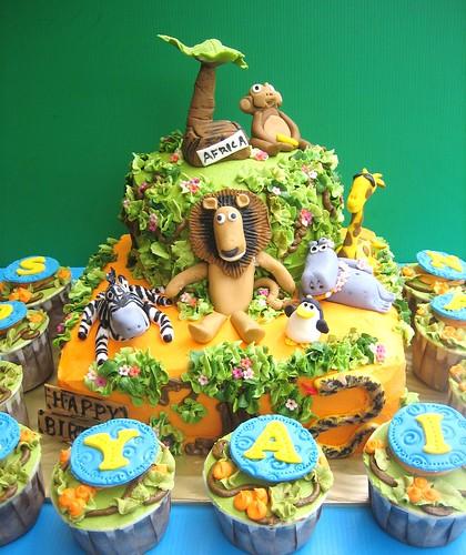 Madagascar cake for soraya Iman