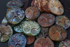 Tree of Life Pendants (Red Crow Arts - Judy) Tags: pendant treeoflife