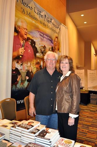 Ed & Cheryl at the Orlando booktable