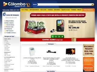 www.colombo.com.br - lojas colombo