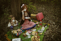 Tea Party (Skunkboy Creatures.) Tags: family portrait photoshoot daughter mother teaparty erinsunday