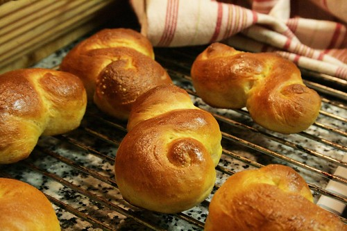 luciabrød på rist