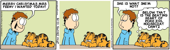Garfield: Lost in Translation, December 19, 2009