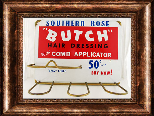 SouthernButchHairDressingHolderwithFrame