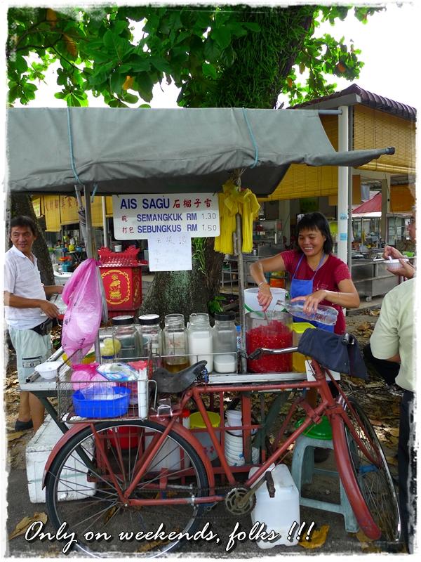 Ais Sagu Stall @ Pasir Pinji, Ipoh
