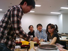 2009-12-29 21.19.15 (yukatica) Tags: party food december kanagawa 2009 nabe hiyoshi kmd tmg