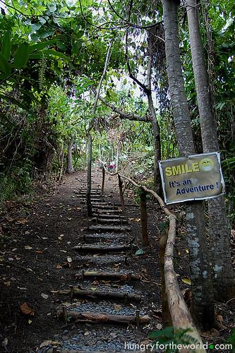 last uphill climb