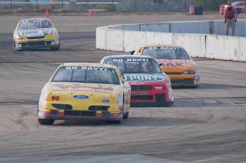 Vintage NASCAR racers