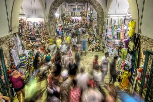 Bustling Inside Mercado Modelo