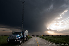 IMG_7149 (ryanmcginnisphoto) Tags: sunset 2 usa vortex storm weather silhouette clouds truck project dark outside unitedstates science iowa research copyspace atmospheric radar scientists meteorology webres nsf stormchasing discoverychannel dow stormchasers greatplains mcginnis researchers stormchaser stormchase nationalsciencefoundation radardish doppleronwheels cswr vortex2 dow7 tornadoresearch centerforsevereweatherreseach mobiledoppler