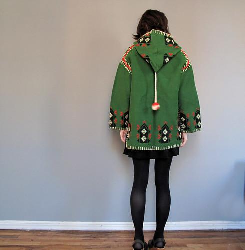 vtg scandinavian coat
