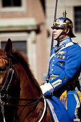 (M.G.M) Tags: azul caballo colores mgm hombre estocolmo suecia jove viajar capitan seor jefe marioguillen