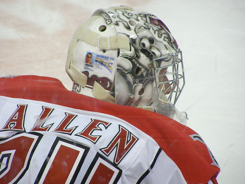 Drummondville Voltigeurs at Halifax Mooseheads (January 17 2010) by RicLaf