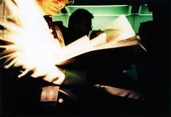 Il rompicoglioni (ale2000) Tags: travel people white man guy plane xpro kodak crossprocess candid cosina aeroplane uomo asshole seats photowalk traveling bianco viaggio aereo cx2 aereoplano sedili rompicoglioni viaggiare epr aledigangicom