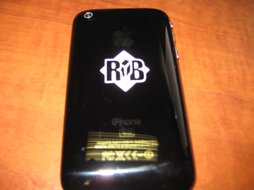 RustyBrick iPhone Decals