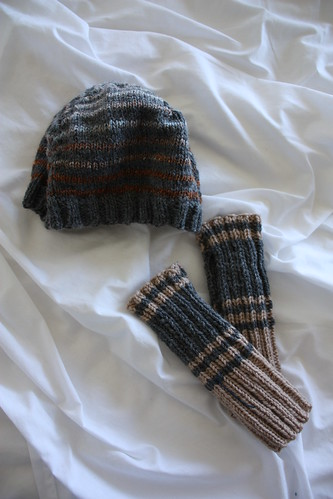 David's Hat and Gloves
