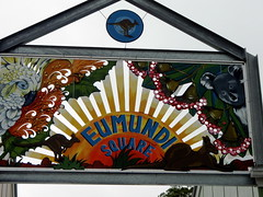 eumundi square sign