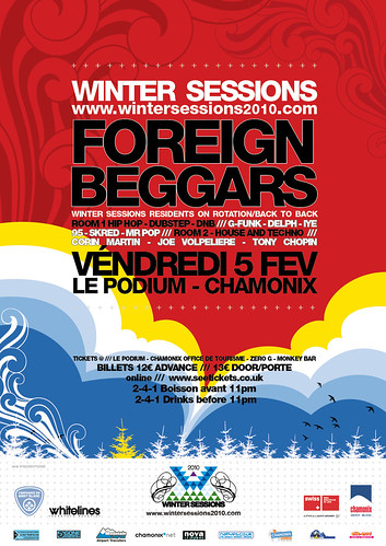 5th Feb Winter Sessions Foreign Beggars