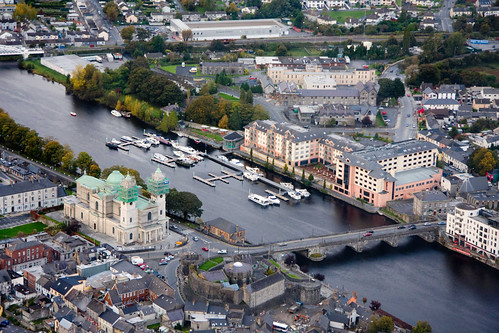 Aerial view of Athlone