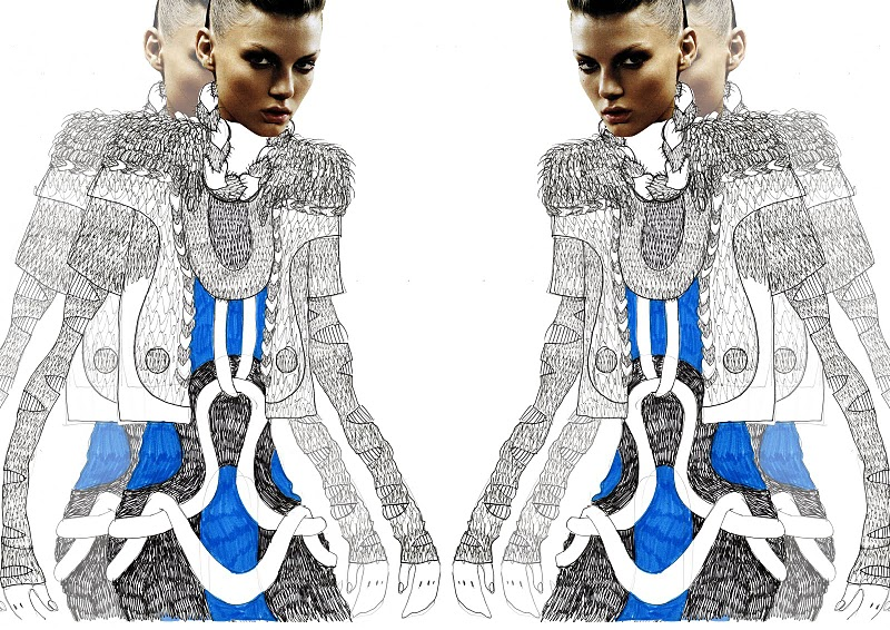 The Fashion Totem illustration 1