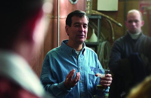 Jim Koch Giving a Tour 2