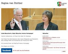 Regina van Dinther: neuer Text auf der Homepage
