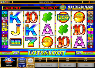 Lots A Loot 5 Reel slot game online review