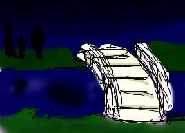 Silta Kirian piirtämänä