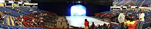 Disney on Ice - Arco Arena pano
