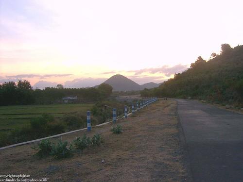 Batu Bulan in the morning