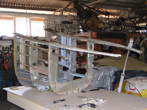 AHSNT B25 Tailcone Under Construction September 2005