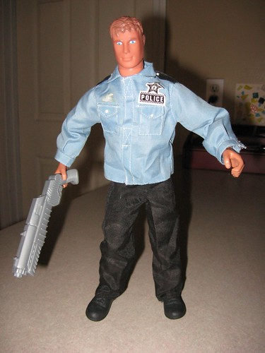 Gi Joe with toygun Duniway