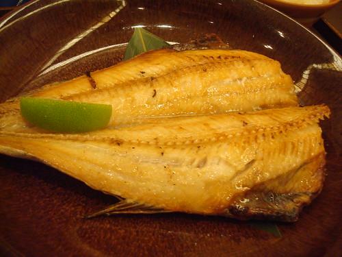碳烤花魚 ほっけ