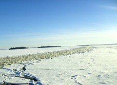 Mlaren in the east port (Nin) Tags: winter sea snow ice port sweden vsters