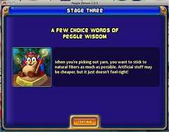 Peggle Knitting