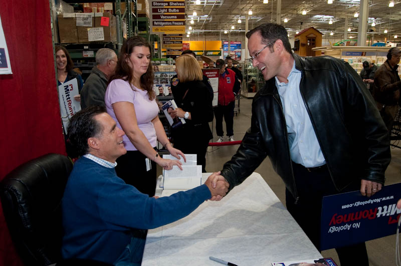 Romney Book Signing-2