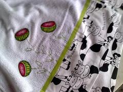 bate-mo (Dipano Ateli) Tags: de galinha pano patchwork prato cozinha jogos tecido aplicao apliqu dipano