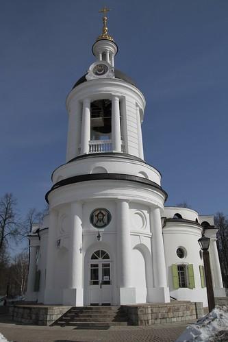 Москва: Храм Влахернской иконы Божией Матери в Кузьминках