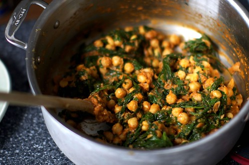 spinach and chickpeas | smitten kitchen