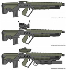 brimstone plasma rifle (timberfox15) Tags: gun weapon scifi guns weapons gurps