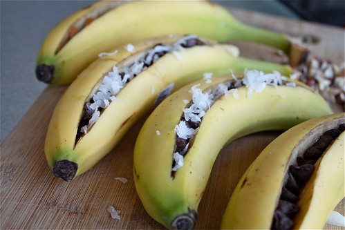 Grilled Chocolate Banana Boats Recipe