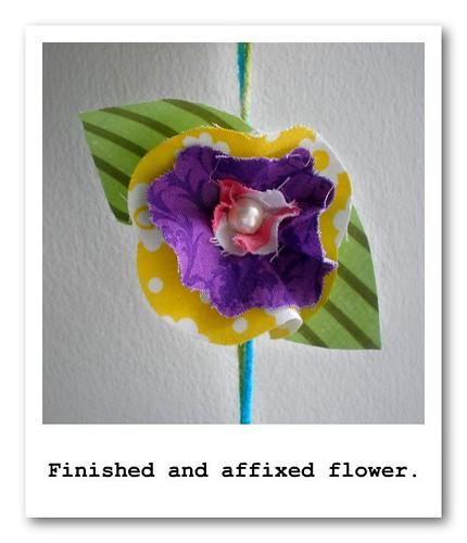 Flower Poloroid